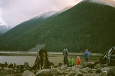 Camping in the wilderness - Canon AE-1 / Fuji film
