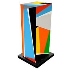 Agstract Geometric Sculpture - Art by Bryce Hudson (brycehudson) Tags: sculpture abstract geometric colorful contemporaryart modernart bold geometrique geometriche geometricabstraction brycehudson