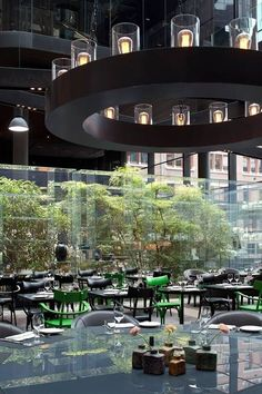 Conservatorium Hotel Amsterdam - 3 for 2 promotion! Call today to book 2 nights and get the third FREE! Interior Design Minimalist, Restaurant Interior Design, Cafe Interior, Restaurant Lounge, Hotel Interiors, Hotel Lobby, Hospitality Design, Cafe Design, Commercial Design