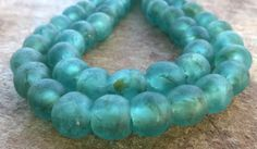 African Recycled Glass Beads12-14 mm African by RedEarthBeads