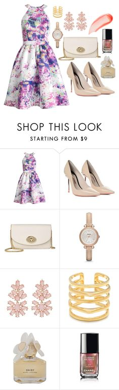 """""""Formal Dinner"""" by di-mmxv ❤ liked on Polyvore featuring Parker, Sophia Webster, Coach, FOSSIL, Stella & Dot, Marc by Marc Jacobs, Chanel and NARS Cosmetics"""