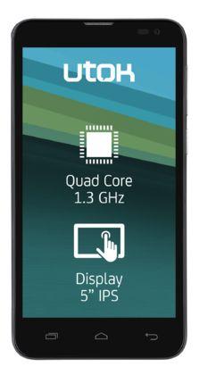 UTOK Stellar Elite Q50, Dual Sim, Sims, Phones, Smartphone