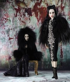 Haute Doll Shoot of Chalk Whites from Spellbound