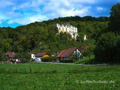 Burg #Schülzburg oder auch #Schiltenburg oberhalb des Örtchens Anhausen ist heute leider nicht mehr zugänglich, da baufällig.
