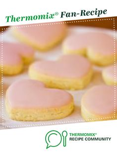 Citrus Valentine's Biscuits by Erica Noble. A Thermomix <sup>®</sup> recipe in the category Baking - sweet on www.recipecommunity.com.au, the Thermomix <sup>®</sup> Community.