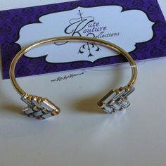 Kute & Kouture Kollections | Acrylic Chevron Cuff Bracelet | Online Store Powered by Storenvy