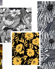 New Autumn/Winter Print Trend 'Monochrome Blow Ups' is now live on our site. Textile Patterns, Textile Design, Color Patterns, Print Patterns, Monochrome Pattern, Christmas Trends, Fashion Forecasting, Winter Trends, Winter Colors