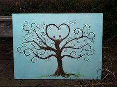 Family Tree With Nest on Etsy, $50.00