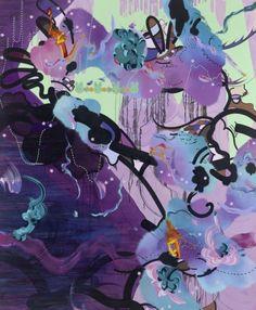 Purple Haze...by Fiona Rae