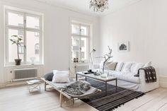 El dormitorio típico de muchos nórdicos