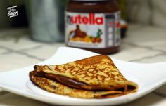 [Comparte y guardarás la receta en tu muro] Irresistibles crepes de Nutella.
