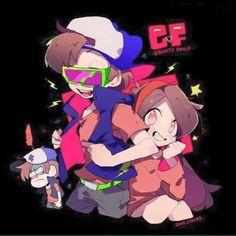 △ Gravity Falls- Dipper, Dippy Fresh, and Mabel △