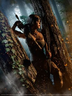 Tomb Raider Game, Lara Croft, Fan Art, Cosplay Tomb Raider