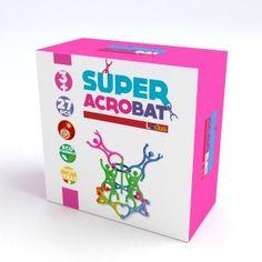 Con Super Acrobat il bambino esercita la capacità di motricità fine, progettazione, equilibrio. Grazie alla precisione di elementi in plastica infrangibile e alla modularità dello snodo che unisce le diverse figure, fantasia e creatività trovano libero sfogo in infinite possibilità di costruzioni con 2 o 3 dimensioni. http://www.ilmelograno.net/it/ludus-giochi/300-super-acrobat-8009971303334.html