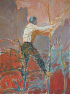 Original People Painting by Wojtek Herman Original Art, Original Paintings, Red Tree, Beautiful Interiors, Art Oil, Figurative Art, Buy Art, Saatchi Art, The Originals