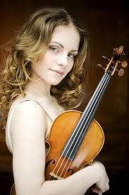 Julia Fischer .. Daughter of an East German mathematician and pianist from Slovakia, born in Munich- started violin at age of 4- won all of the International Music Competitions- became professor of the Frankfurt music and performing arts college at the young age of 23.