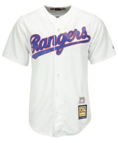 Majestic Nolan Ryan Texas Rangers Cooperstown Replica Jersey - White S