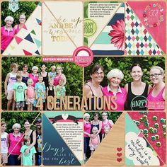 Project Life Layout by Kirsty using the Pocket Life: March Collection by Traci Reed