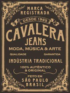 Etiqueta Jeans - Cavalera by dou_glas, via Flickr