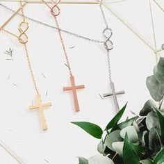 Daughter Necklace: Gift for Daughter, Daughter Jewelry, Mother Daughter, Infinity Cross – Dear Ava Sister Gifts, Best Friend Gifts, Mother Day Gifts, Gifts For Friends, Gifts For Mom, Bff Necklaces, Best Friend Necklaces, Mother Daughter Necklace, In Law Gifts