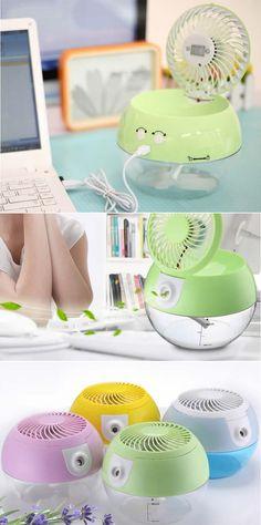 USB Fan Humidifier