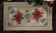 Crochet Knitting Artesanato:-ponto cruz e Hardanger