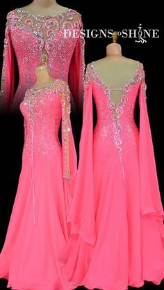 ballroom-gowns-twisted-coral-B17337