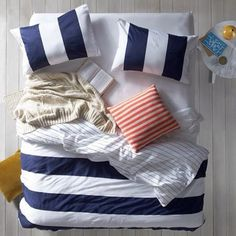 Freedom NZ Instagram | Navy Fairhaven Duvet