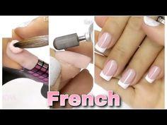 Arte y Belleza Vicky - YouTube Acrylic Nail Shapes, Acrylic Nails, French Nails, Gel Nails, Hair Makeup, Nail Designs, Make Up, Beauty, Home