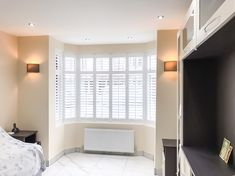 Save up to on Plantation Shutters in our New Year sale! Call us today on 0208 662 0126 to book a free quotation, we cover Kent, Surrey and South London! Interior Window Shutters, Wooden Shutters, Interior Windows, Interior S, Sash Windows, Large Windows, Windows And Doors, Shutter Blinds, South London
