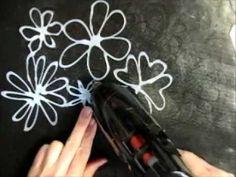 Hot Glue Gun Stencils