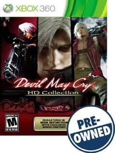 Devil May Cry: HD Collection — PRE-Owned - Xbox 360
