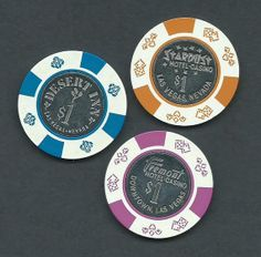 Vintage Las Vegas Casino Chips Stardust by VintageChezFulton, $10.00