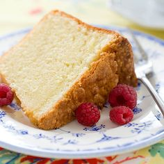 """""""Cold-Oven Pound Cake"""" is a recipe from my grandmother's recipe files."""