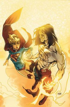 On the surface of the sun, Supergirl must make a choice: Earth or H'el? #manofsteel #Supergirl #HEl
