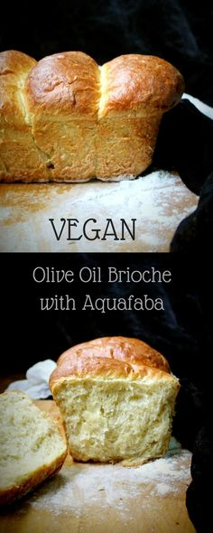 Vegan Olive Oil Brioche with Aquafaba. This has a light, almost feathery crumb and a golden, crisp crust.