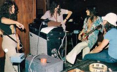 Deep Purple MKIV In Studio ~ Munich, Germany 1975 ~ Glenn Hughes, Jon Lord, Tommy Bolin & Ian Paice