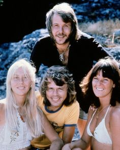Abba -- they look young here...probably 1973.