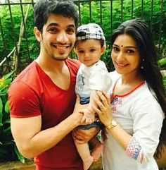 arjun bijlani with son
