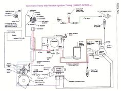 kohler engine electrical diagram craftsman 917 270930 wiring rh pinterest com Kohler Small Engine Wiring Diagram 23 HP Kohler Wiring Diagram