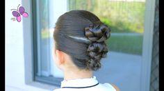 Recogido para Clases / Colegio - School Hairstyle | Peinados Faciles y Rapidos | Trenzas y Peinados