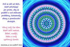 Mandala Pěstuj zdravé vztahy Mandala, Outdoor Blanket, Words, Lifestyle, Mandalas, Horse