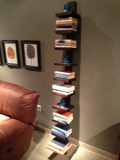 A fun bookcase by Flexsteel Furniture. // www.KeyHomeFurnishings.com