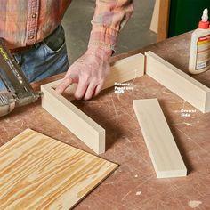 How to Build an Under-Cabinet Drawer (DIY) | Family Handyman Under Cabinet Drawers, Diy Drawers, Wood Drawers, Diy Kitchen Cabinets, Kitchen Cabinet Organization, Wood Cabinets, Kitchen Ideas, Kitchen Updates, Kitchen Cupboard
