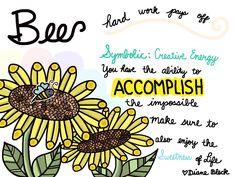 Spirit of Doodles - Bee - Art by: Diane Bleck