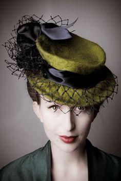 ⍙ Pour la Tête ⍙ hats, couture headpieces and head art - Joanne Rolfe design
