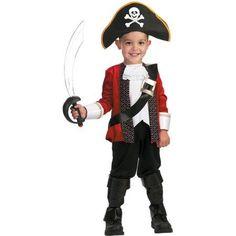 El Capitan Child Halloween Costume, Boy's, Size: Child Boys (4-6), Multicolor