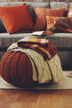 Autumn dreaming ❤ autumn fall interiors / autumn colours / autumn mood / cosy autumn / fall