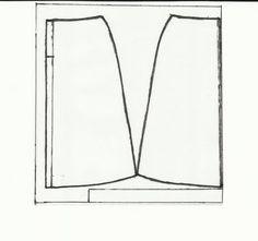 Molde de saia evasê tamanho 38 em PDF (basta imprimir). Fonte: Blog Moldes e dicas de Moda. Modelista, Sewing, Pattern, Clothes, Pattern Sewing, Fashion Hacks, Full Skirts, Sewing Patterns, Needlepoint