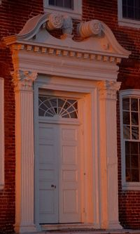 The Westover doorway is one of the most recognized architectural elements in the United States.